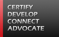 Certiy. Develop. Connect. Advocate.